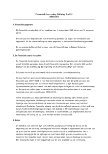 financieel jaarverslag 09-10
