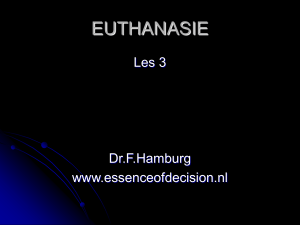 euthanasie - Essence of Decision