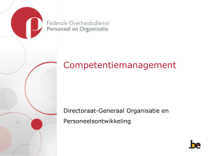 Competentiemanagement - Fedweb
