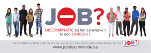 Vensteraffiche - Jobdiscriminatie