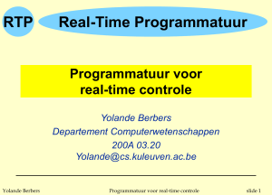 RTP - Departement Computerwetenschappen