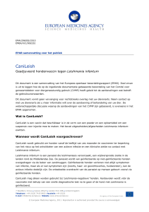 CaniLeish - European Medicines Agency