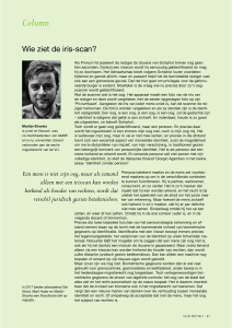 Column - martijn stronks
