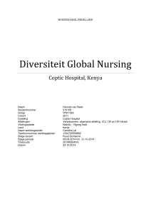 Diversiteit Global Nursing