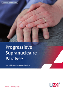Progressieve Supranucleaire Paralyse