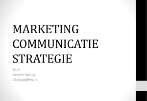 Examentraining Marketing Communicatie B