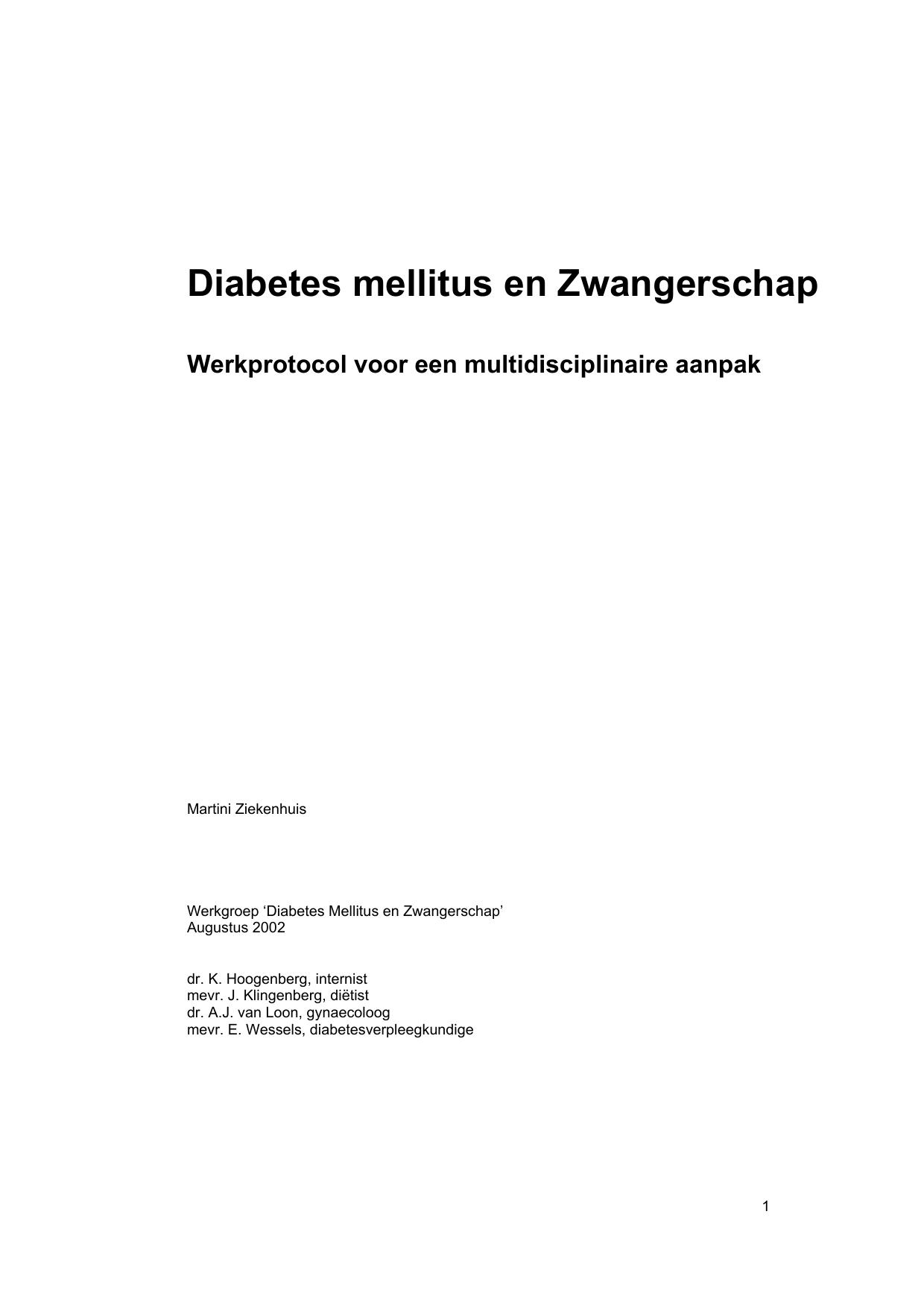 schildklierontsteking en zwangerschapsdiabetes