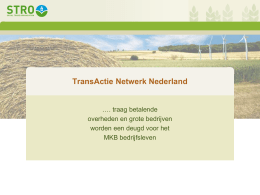 PowerPoint-presentatie - Social TRade Organisation