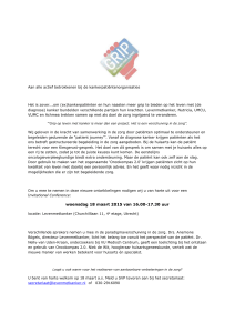Uitnodiging GRIP invitational conference 18 maart 2015