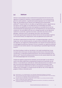 3.3 Delirium - Nederlands internisten vereniging