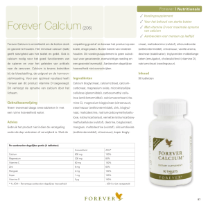Forever Calcium(206) - Forever Living Products
