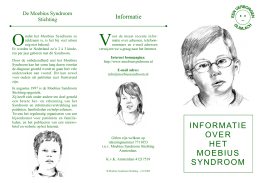 Folder - Moebius Syndroom Stichting
