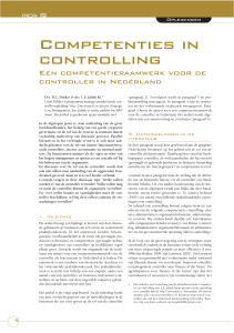 Competenties in controlling