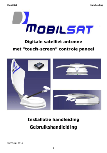 Digitale satelliet antenne
