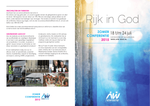 Rijk in God