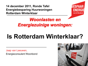 PowerPoint Presentation - Rotterdams Milieucentrum
