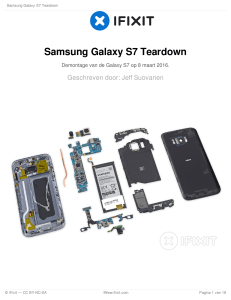 Samsung Galaxy S7 Teardown