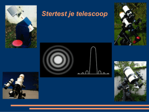 Stertest je telescoop