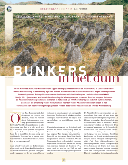 beschrijving bunkerroute ouddorp