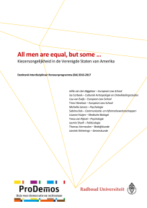 All men are equal, but some …