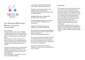 Wat is Integratieve Kindertherapie Dreischor en wat doet de