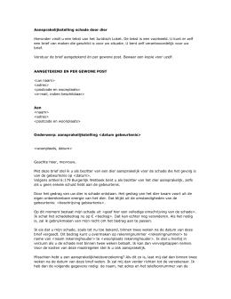 in gebreke stellen voorbeeldbrief In Gebreke Stellen Voorbeeldbrief | hetmakershuis