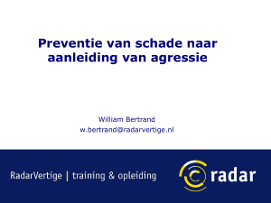 Workshop 3: presentatie William Bertrand