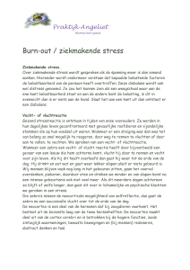 Burn-out / ziekmakende stress