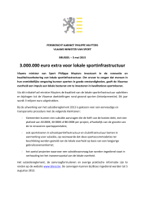 3.00 00.000 0 euro e extra vo oor lok kale spo ortinfra astruct tuur