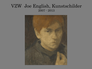 Slide 1 - Joe English Kunstschilder