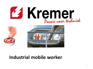 Industrial mobile worker