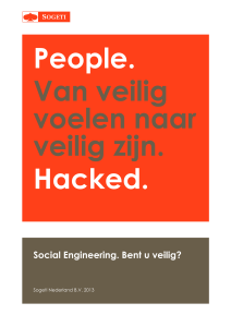 Sogeti Social Engineering Rapport
