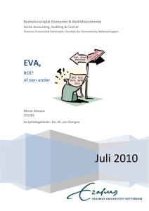 EVA - Erasmus University Thesis Repository