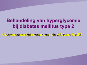 SA. Diabetes 3. ADA-EASD guidelines Diabetes Educatie Service
