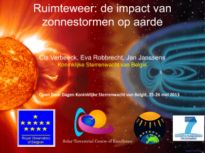 Ruimteweer - European Space Weather Portal