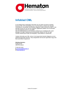 Infoblad CML