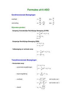 tweede orde differentiaalvergelijking
