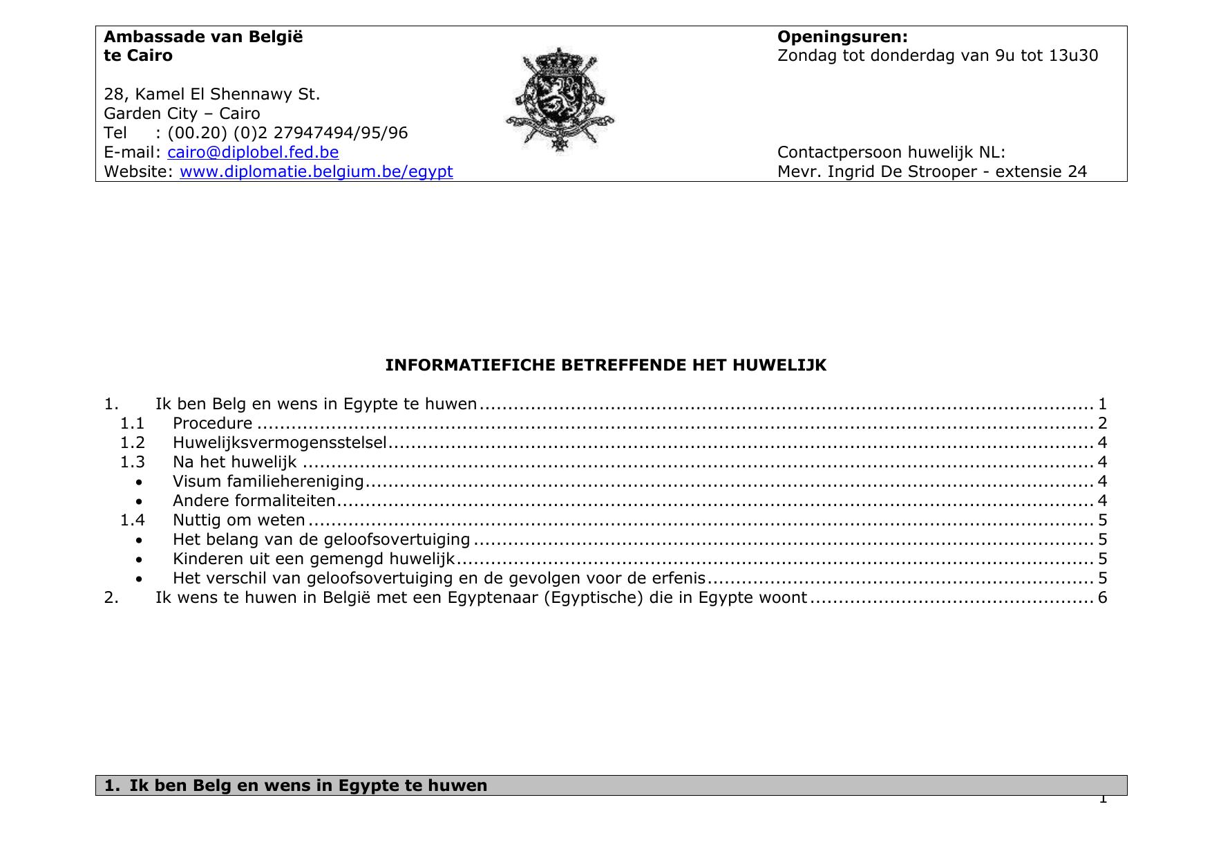 visum aanvragen voor belgie