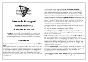 Ensemble Rossignol - Concert Doorwerth