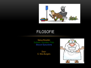 FIlosofie - KennisBankSu