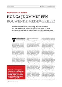 April 2016 – Rouwen is hard werken
