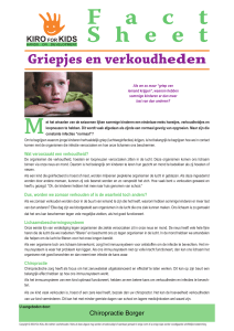 fact sheet - coughs and colds - dutch.indd