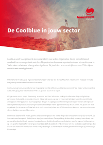De Coolblue in jouw sector