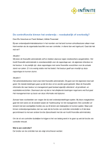 Stichting P - Infinite Financieel B.V.