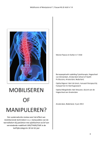Mobiliseren of Manipuleren?