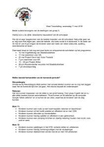 5e nieuwsbrief - OBS Prinses Margrietschool Terschelling