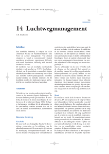 14 Luchtwegmanagement
