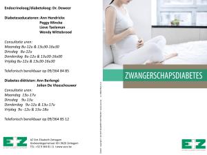 gedeeltelijk ziek melden zwangerschapsdiabetes