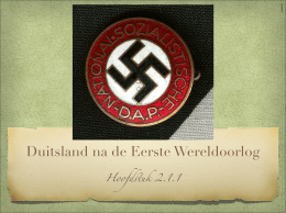 duitsland eerste wereldoorlog