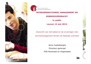 INTERGENERATIONEEL MANAGEMENT EN